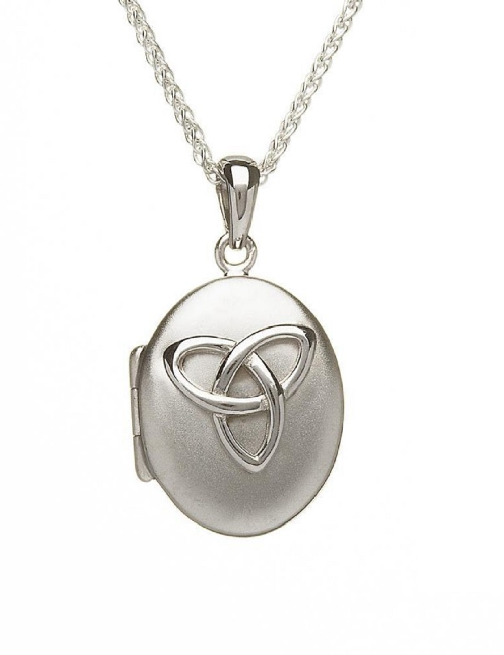 silver cross oval locket shaped sterling lockets celtic p htm