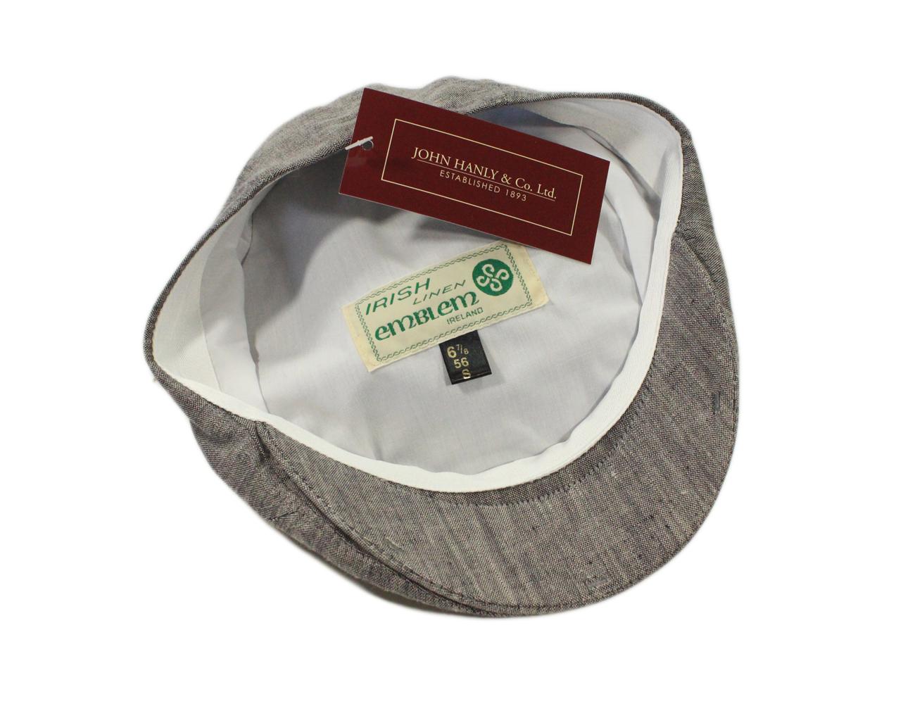 New Mens Summer Hat Irish Linen Made in Ireland John Hanly   Co.  df5e82d82fa