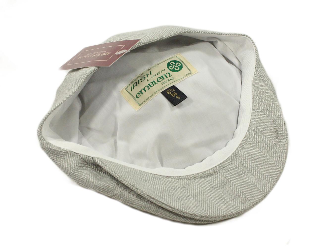 b4e4e458d0973 New Mens Summer Hat Irish Linen Made in Ireland John Hanly & Co. | eBay
