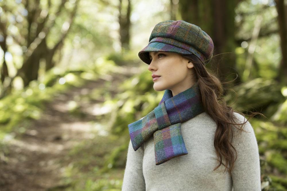 b82cb4d22cd Womens Newsboy Cap 100% Wool Irish Made