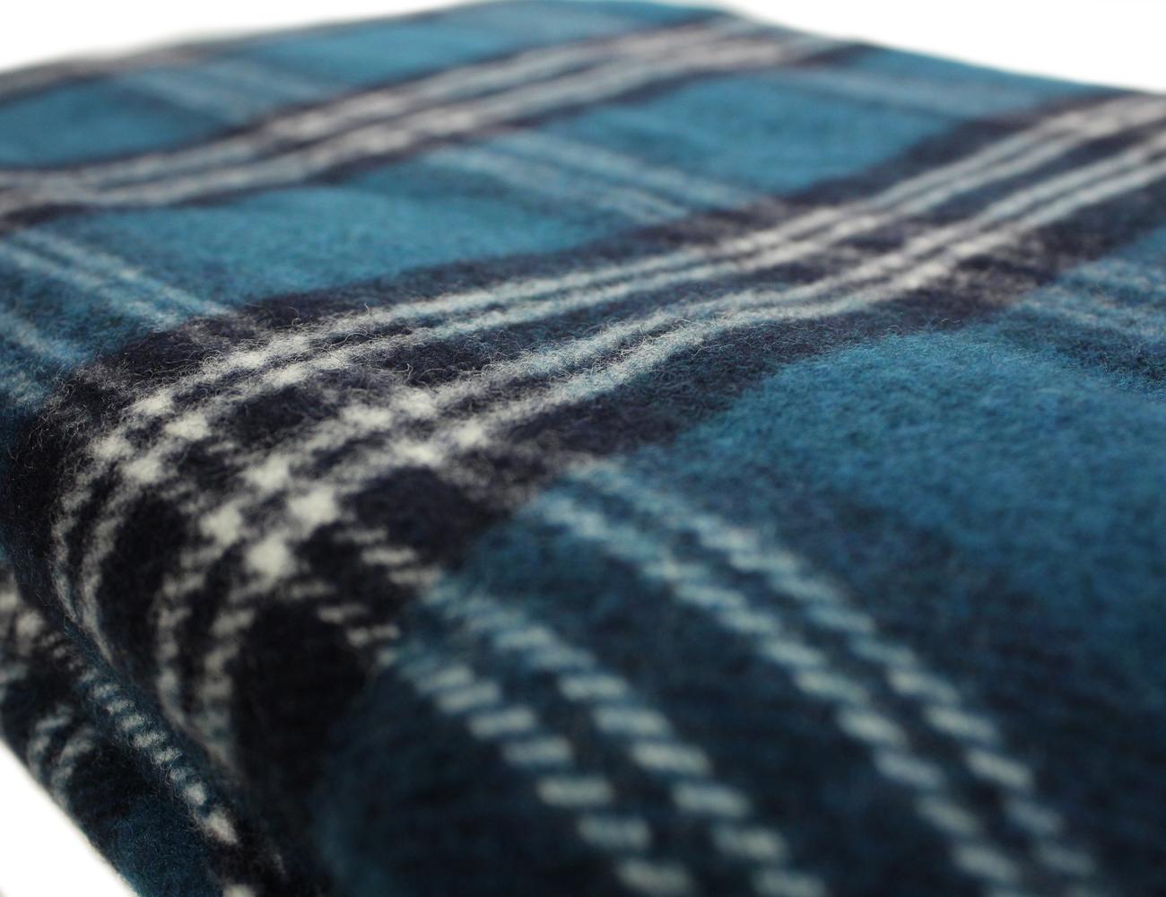 Tartan Blanket 52 X 70 100 Wool Irish Made Ebay