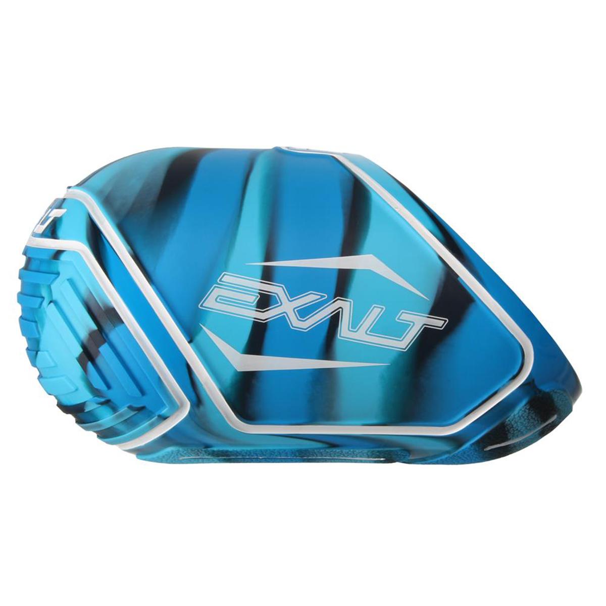 exalt paintball tank cover small 45 50ci blue swirl