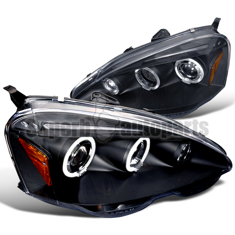 2002-2004 Acura RSX Halo LED Projector Headlights JDM