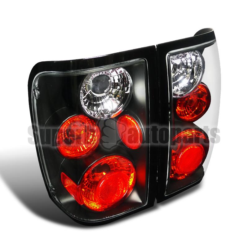 2008 Ford Ranger Black Tail Lights