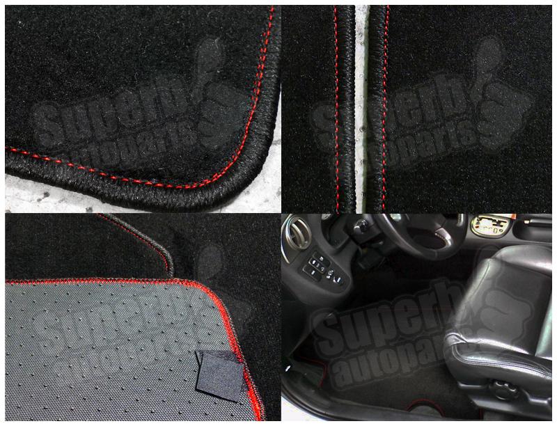 2002 2006 Acura Rsx Dc5 4pc Black Fabric Carpet Floor Mats
