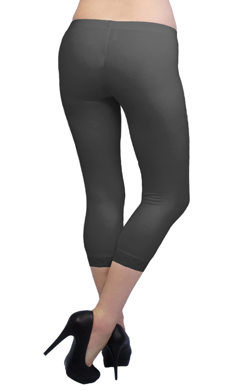 Vivian-039-s-Fashions-Capri-Leggings-Cotton-Lace-Misses-and-Misses-Plus-Sizes thumbnail 29