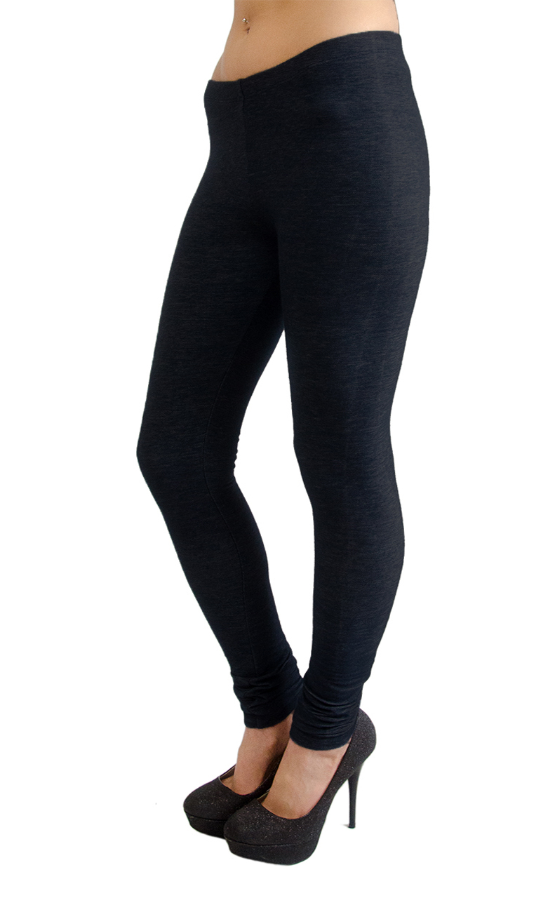 Vivian-039-s-Fashions-Long-Leggings-Knit-Denim-Misses-and-Misses-Plus-Sizes thumbnail 12