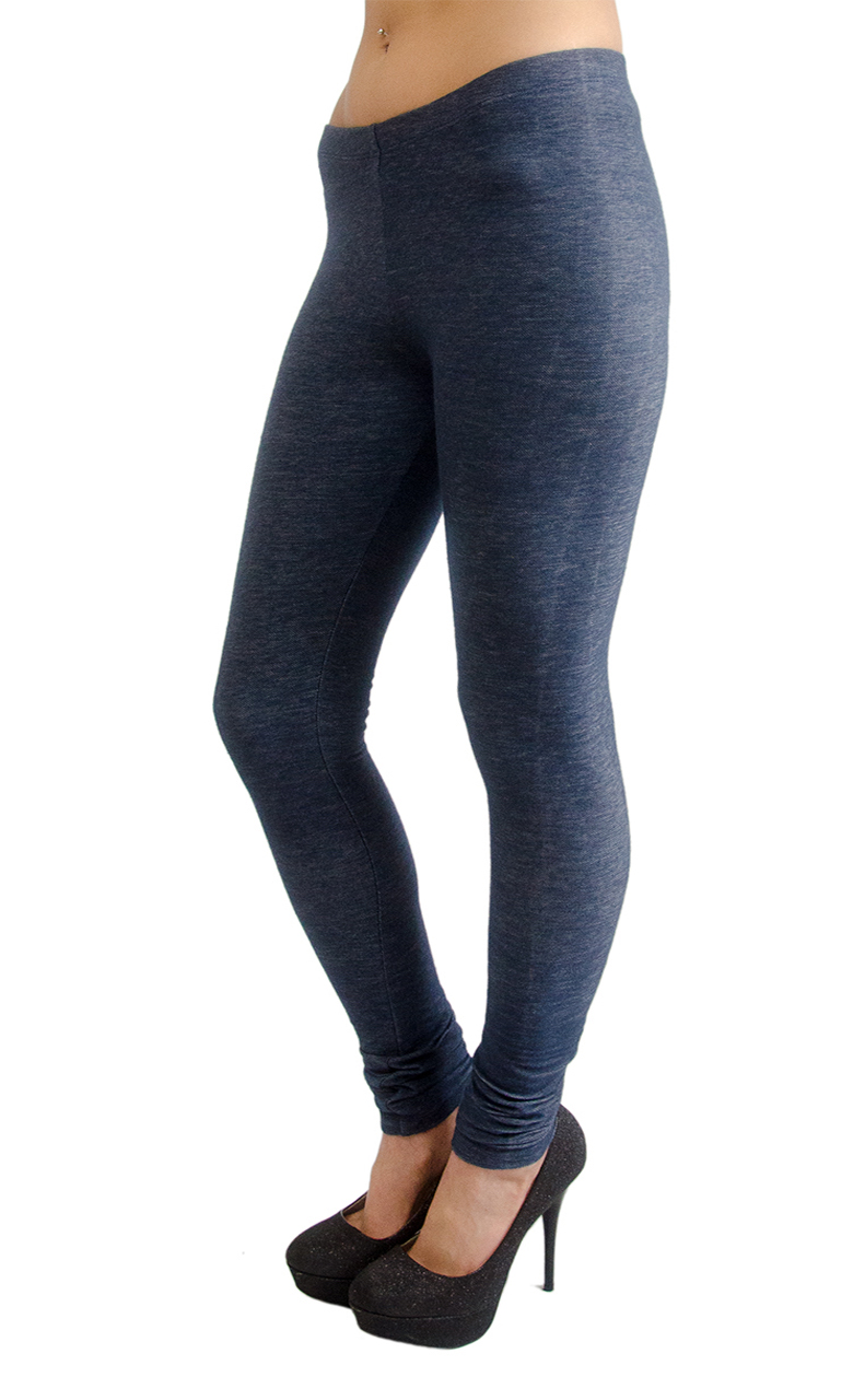 Vivian-039-s-Fashions-Long-Leggings-Knit-Denim-Misses-and-Misses-Plus-Sizes thumbnail 17