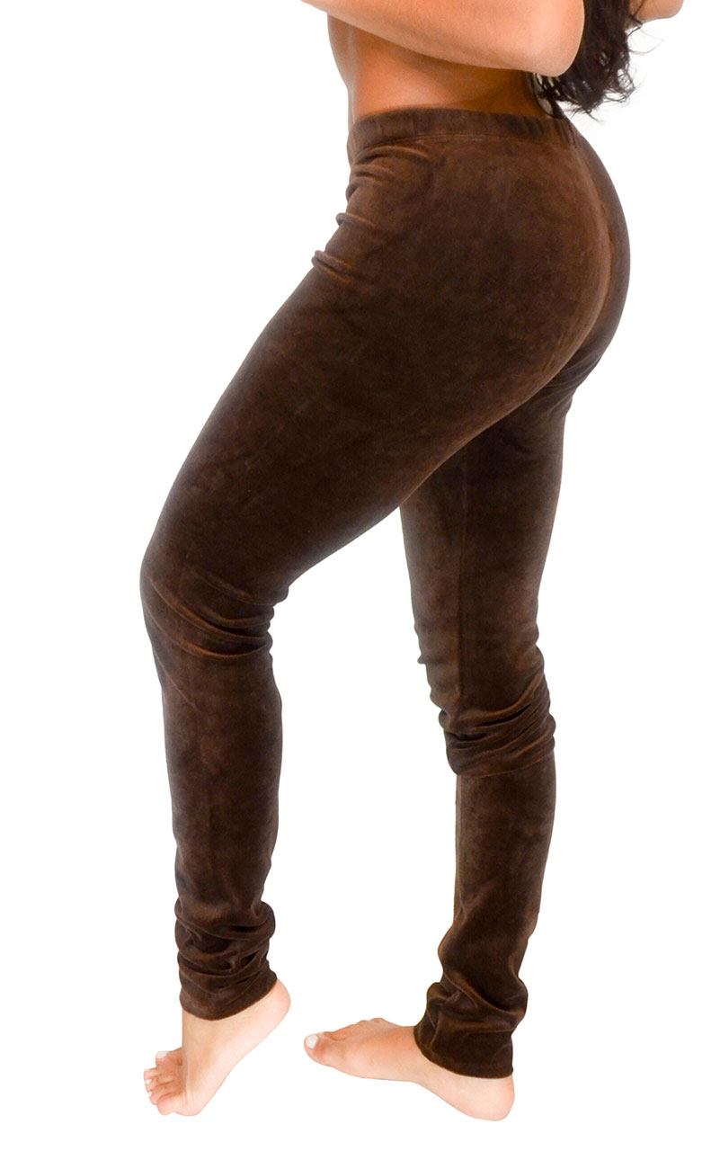 Vivian-039-s-Fashions-Long-Leggings-Soft-Velour-Misses-and-Misses-Plus-Sizes thumbnail 11