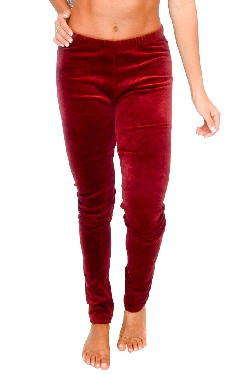 Vivian-039-s-Fashions-Long-Leggings-Soft-Velour-Misses-and-Misses-Plus-Sizes thumbnail 14