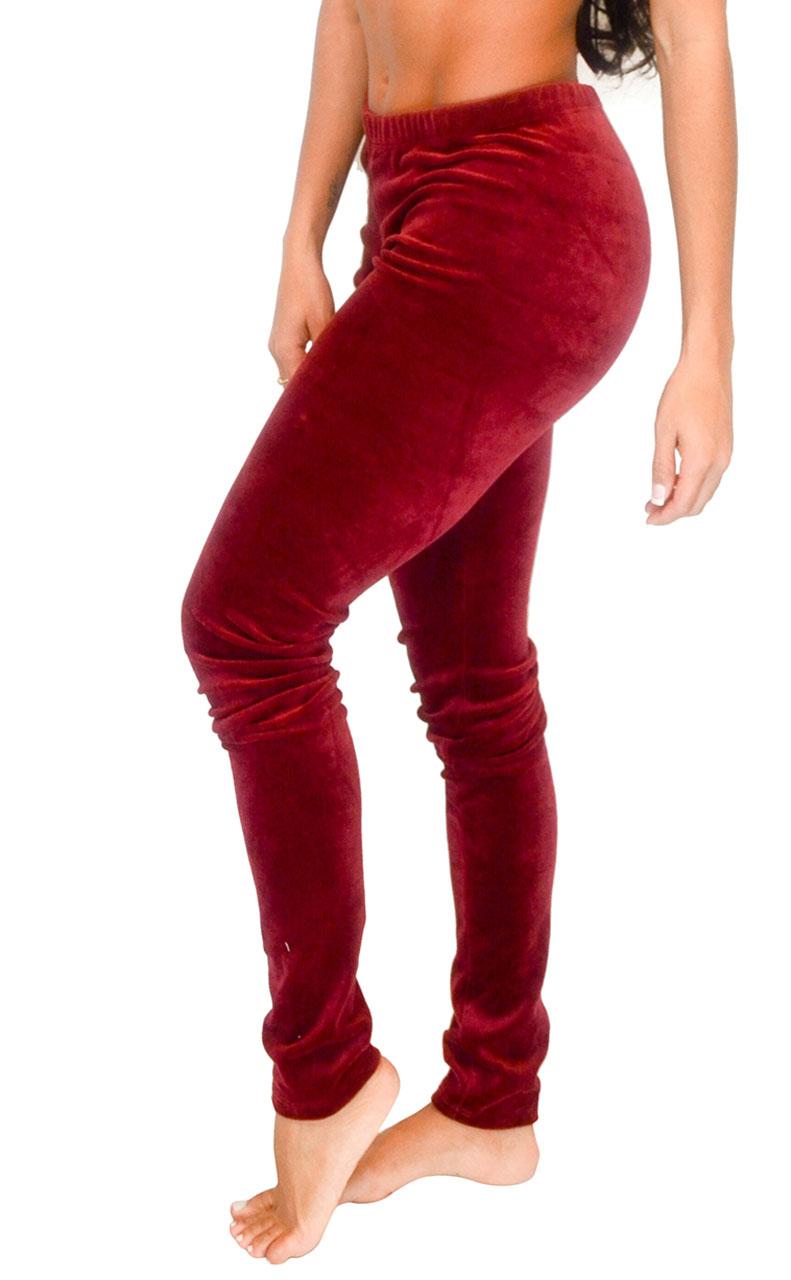 Vivian-039-s-Fashions-Long-Leggings-Soft-Velour-Misses-and-Misses-Plus-Sizes thumbnail 15