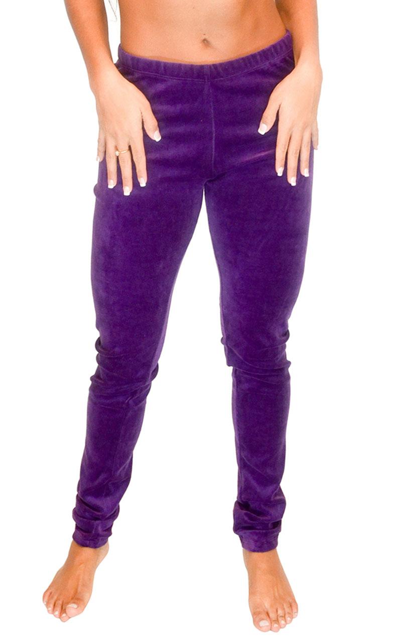 Vivian-039-s-Fashions-Long-Leggings-Soft-Velour-Misses-and-Misses-Plus-Sizes thumbnail 18