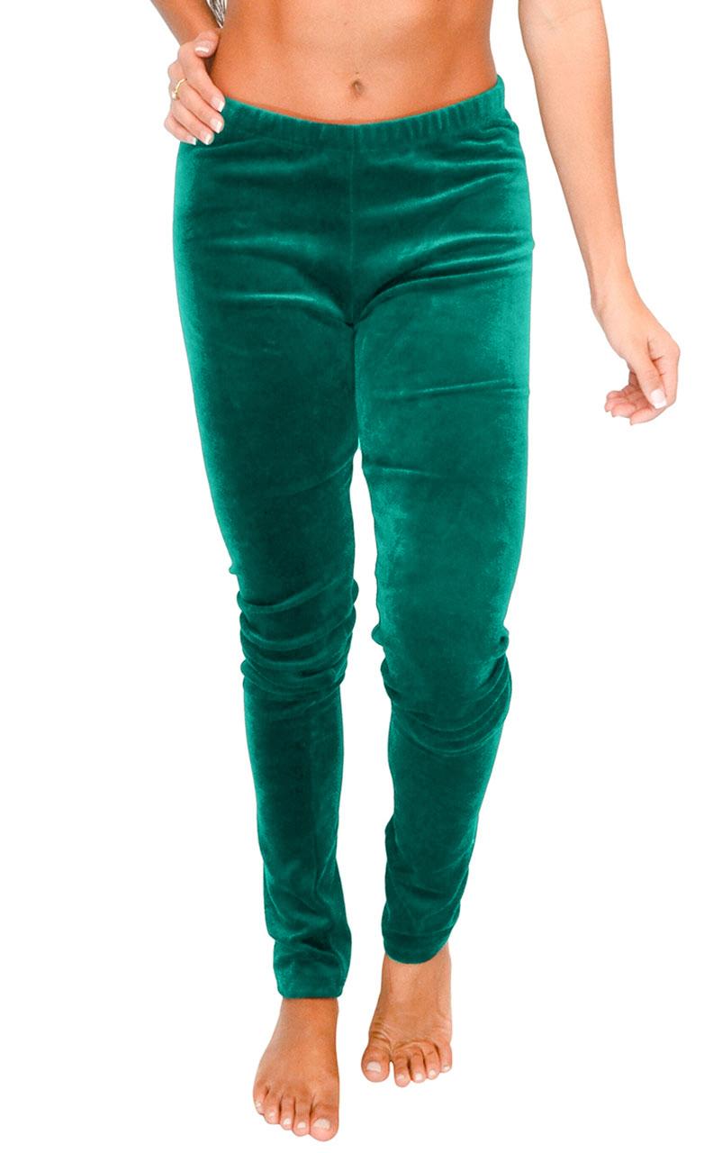 Vivian-039-s-Fashions-Long-Leggings-Soft-Velour-Misses-and-Misses-Plus-Sizes thumbnail 22