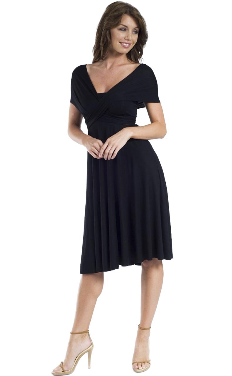 Vivian-039-s-Fashions-Dress-Skirt-Twist-Wrap-10-Ways-to-Wear thumbnail 11
