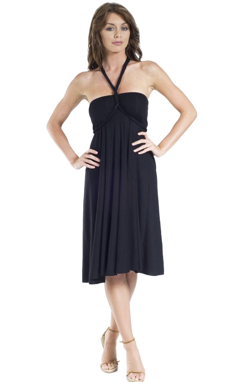 Vivian-039-s-Fashions-Dress-Skirt-Twist-Wrap-10-Ways-to-Wear thumbnail 12