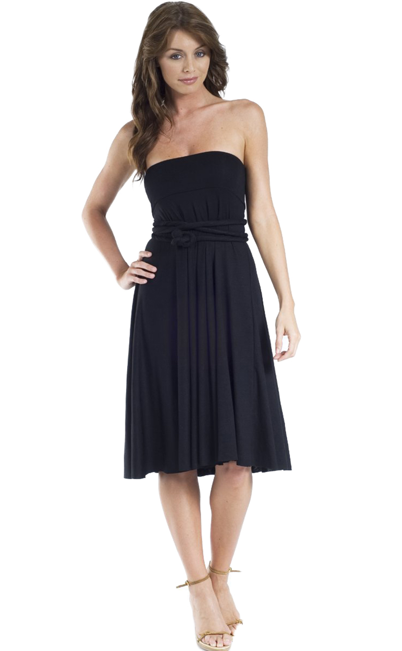 Vivian-039-s-Fashions-Dress-Skirt-Twist-Wrap-10-Ways-to-Wear thumbnail 13