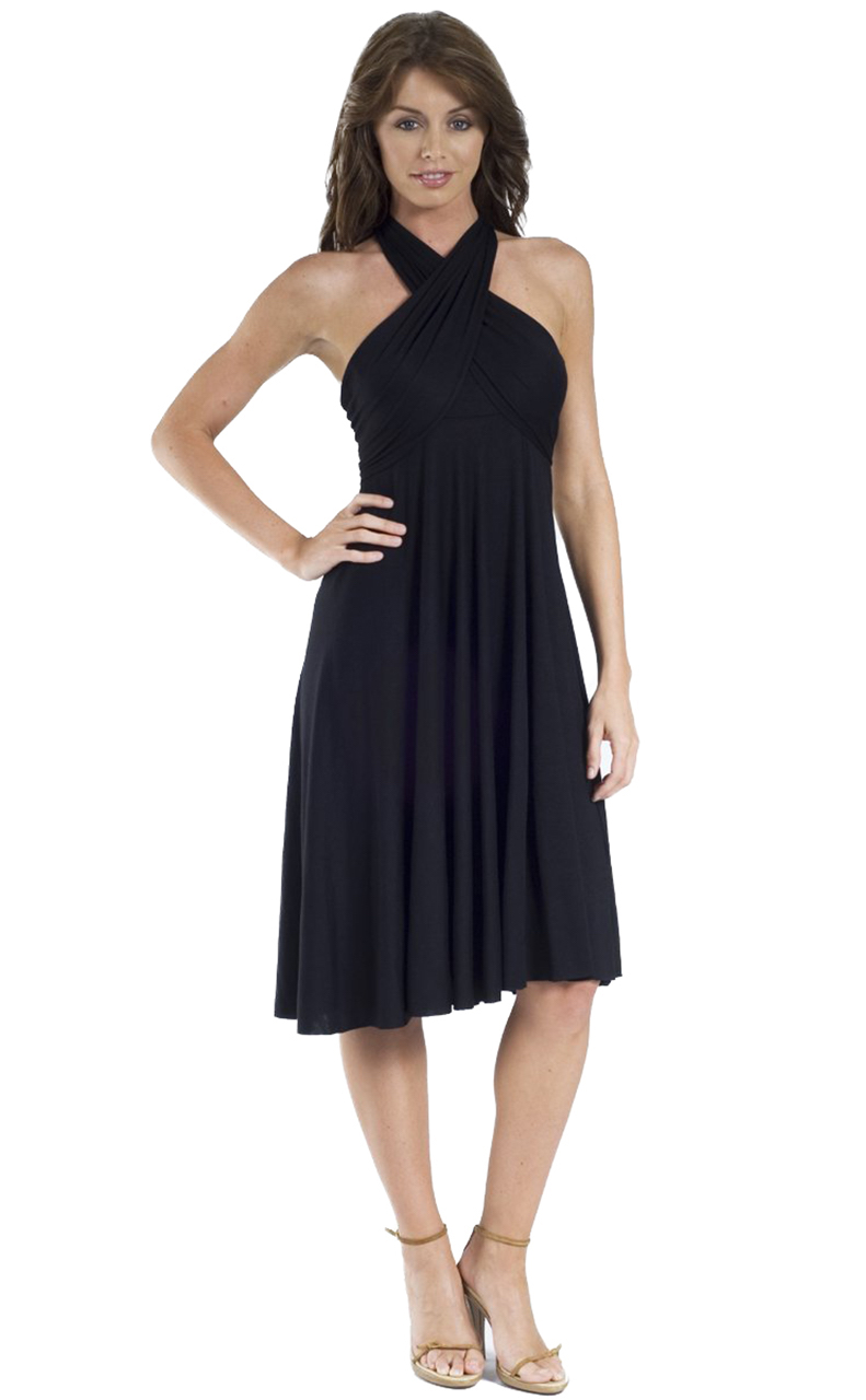 Vivian-039-s-Fashions-Dress-Skirt-Twist-Wrap-10-Ways-to-Wear thumbnail 14