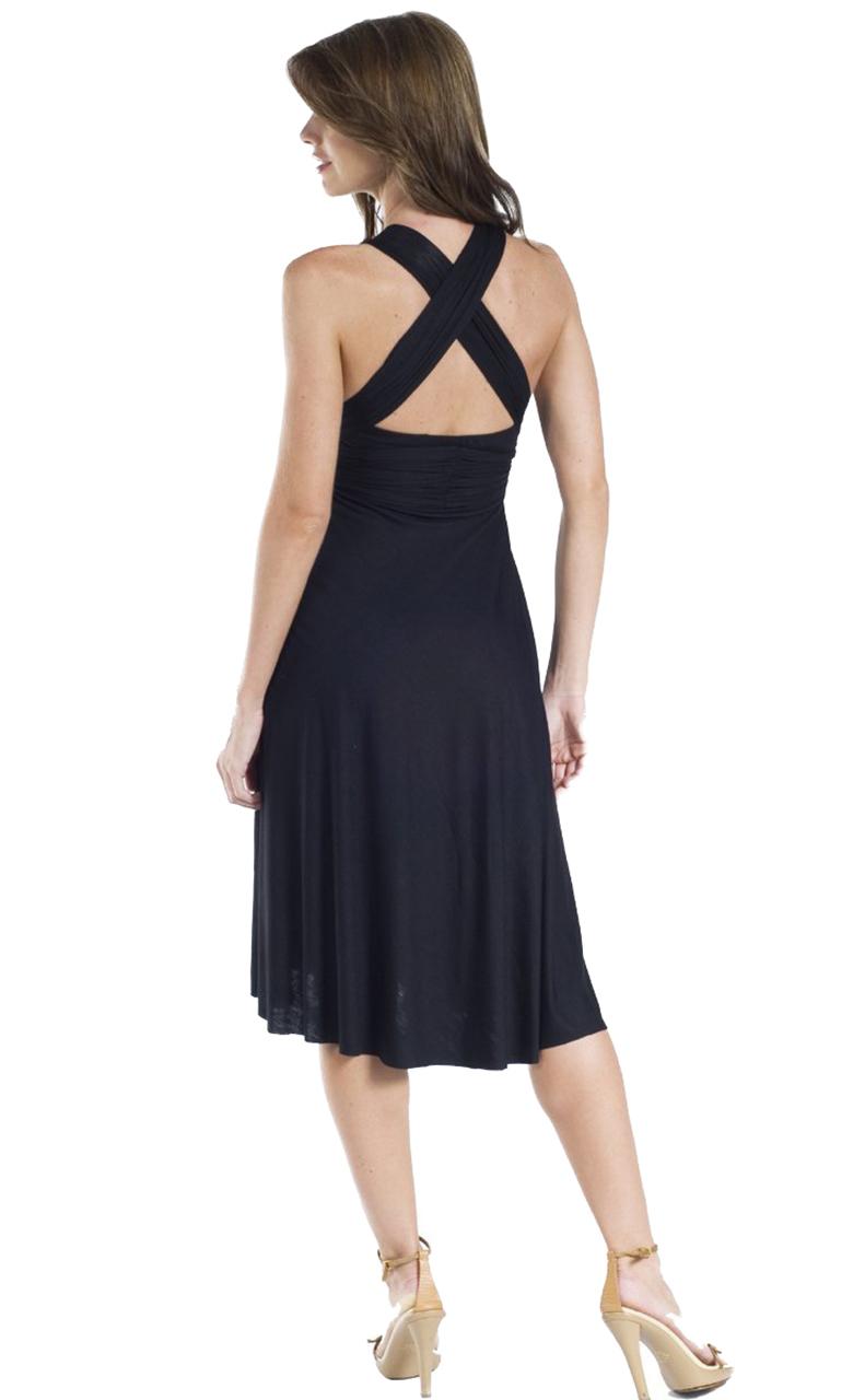 Vivian-039-s-Fashions-Dress-Skirt-Twist-Wrap-10-Ways-to-Wear thumbnail 15