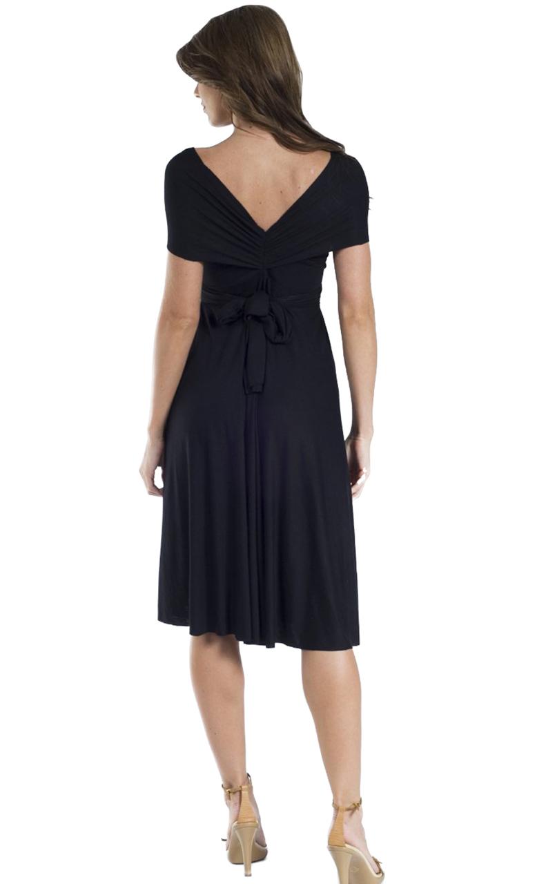 Vivian-039-s-Fashions-Dress-Skirt-Twist-Wrap-10-Ways-to-Wear thumbnail 16