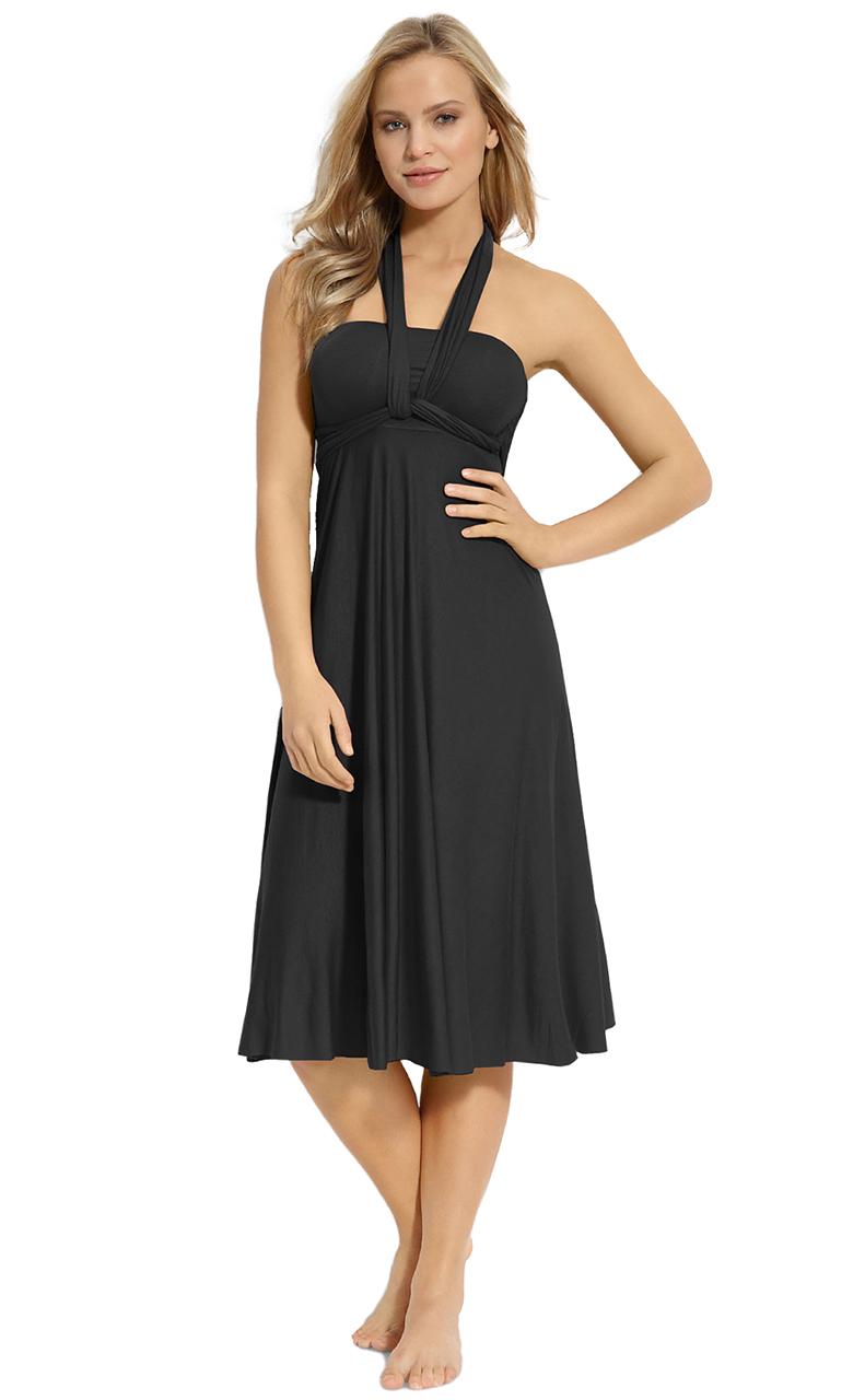 Vivian-039-s-Fashions-Dress-Skirt-Twist-Wrap-10-Ways-to-Wear thumbnail 17
