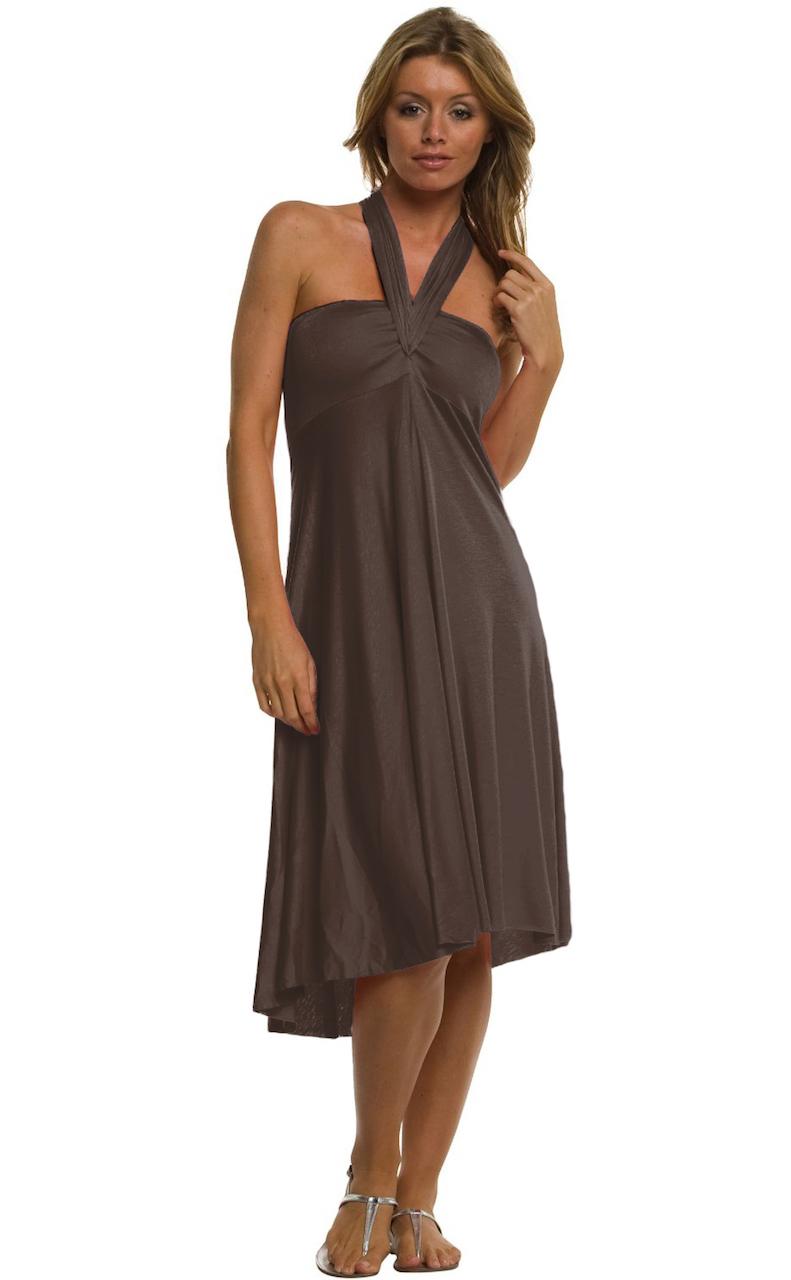 Vivian-039-s-Fashions-Dress-Skirt-Twist-Wrap-10-Ways-to-Wear thumbnail 22
