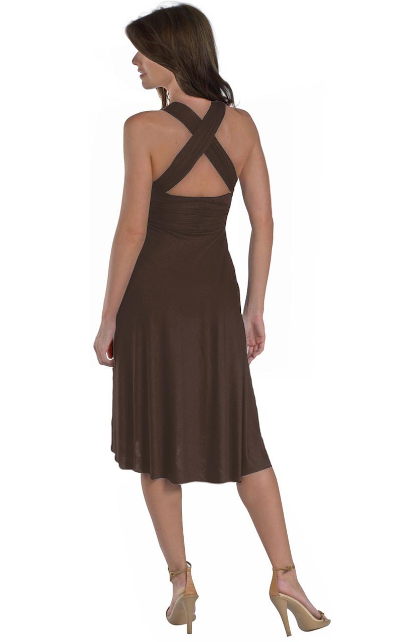 Vivian-039-s-Fashions-Dress-Skirt-Twist-Wrap-10-Ways-to-Wear thumbnail 23