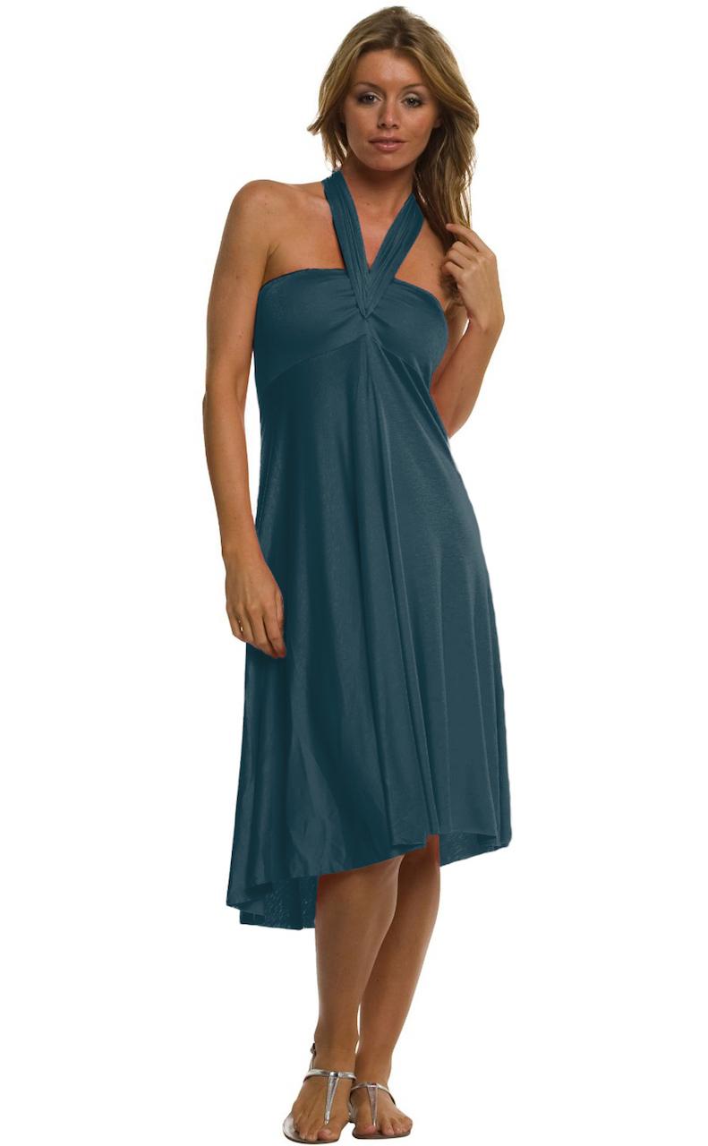 Vivian-039-s-Fashions-Dress-Skirt-Twist-Wrap-10-Ways-to-Wear thumbnail 19