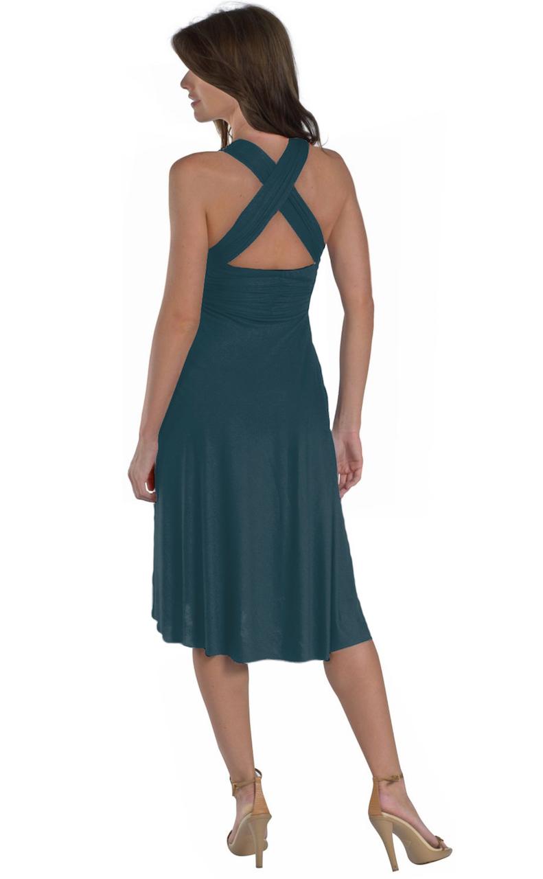 Vivian-039-s-Fashions-Dress-Skirt-Twist-Wrap-10-Ways-to-Wear thumbnail 20