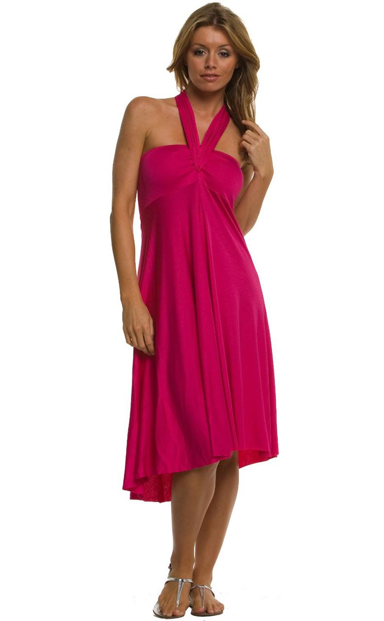 Vivian-039-s-Fashions-Dress-Skirt-Twist-Wrap-10-Ways-to-Wear thumbnail 25