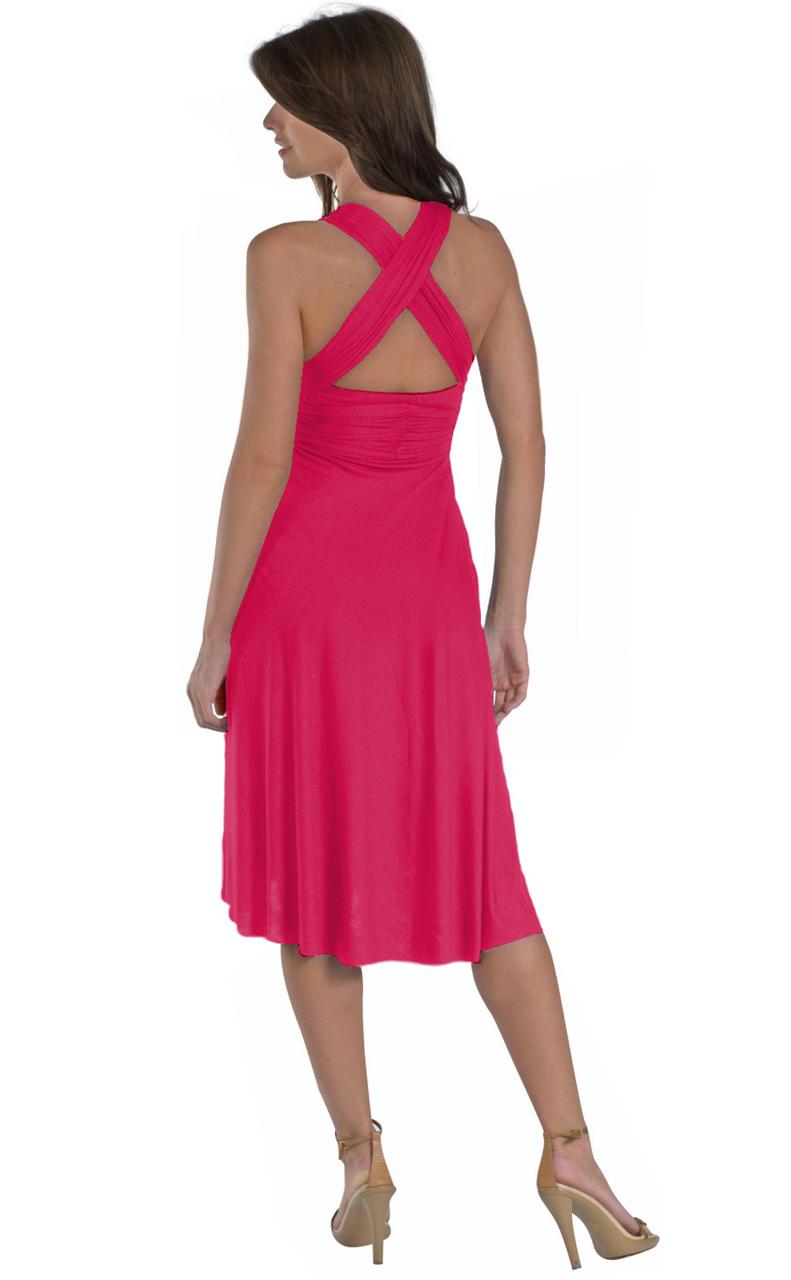 Vivian-039-s-Fashions-Dress-Skirt-Twist-Wrap-10-Ways-to-Wear thumbnail 26