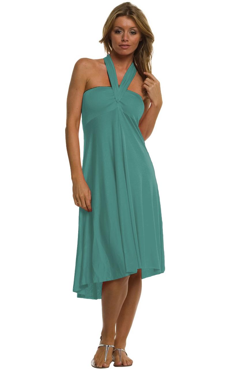 Vivian-039-s-Fashions-Dress-Skirt-Twist-Wrap-10-Ways-to-Wear thumbnail 31