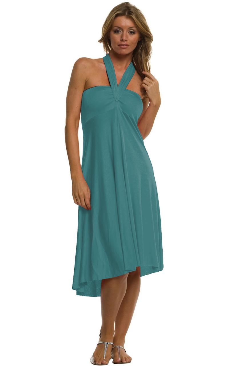Vivian-039-s-Fashions-Dress-Skirt-Twist-Wrap-10-Ways-to-Wear thumbnail 37