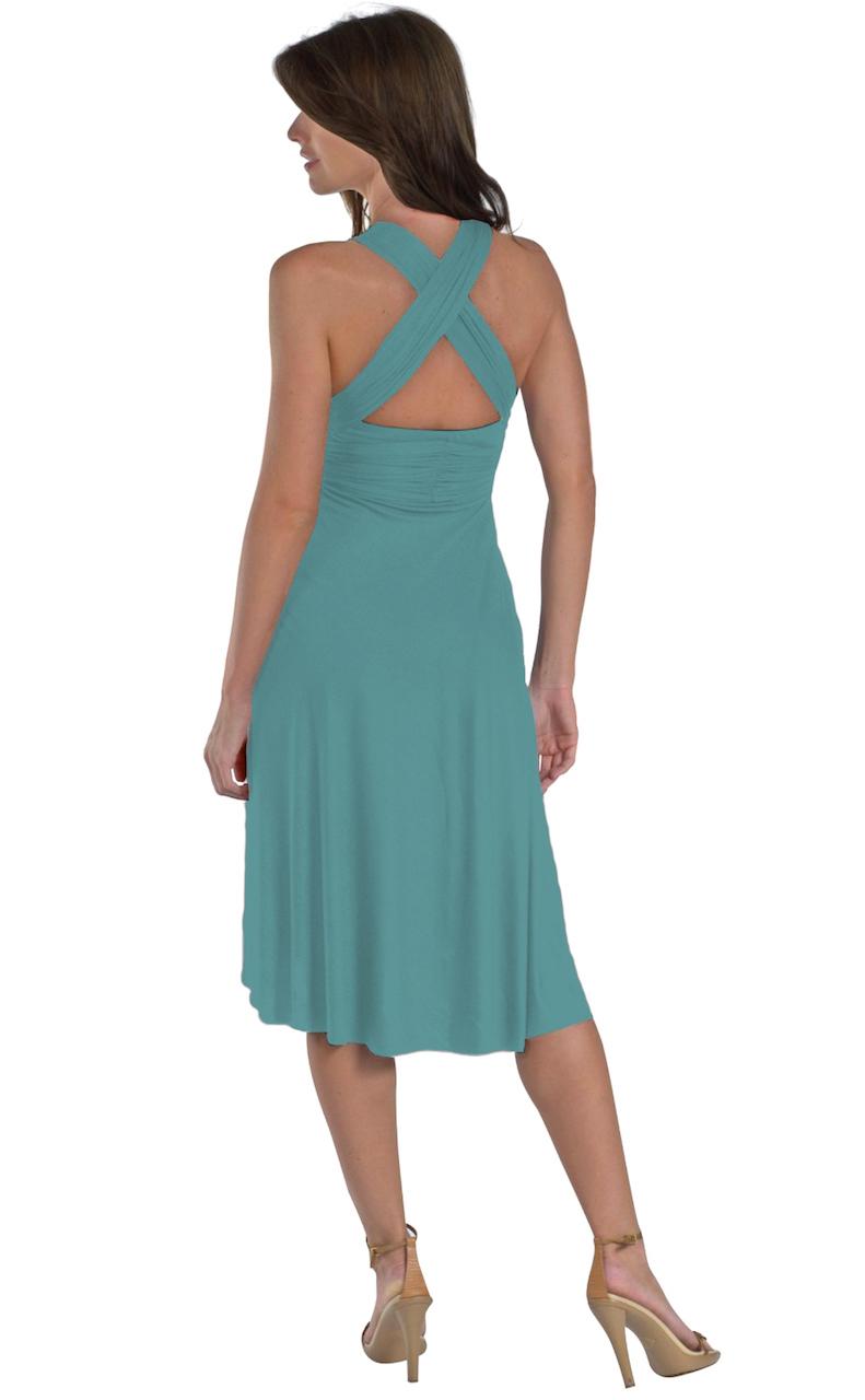 Vivian-039-s-Fashions-Dress-Skirt-Twist-Wrap-10-Ways-to-Wear thumbnail 38