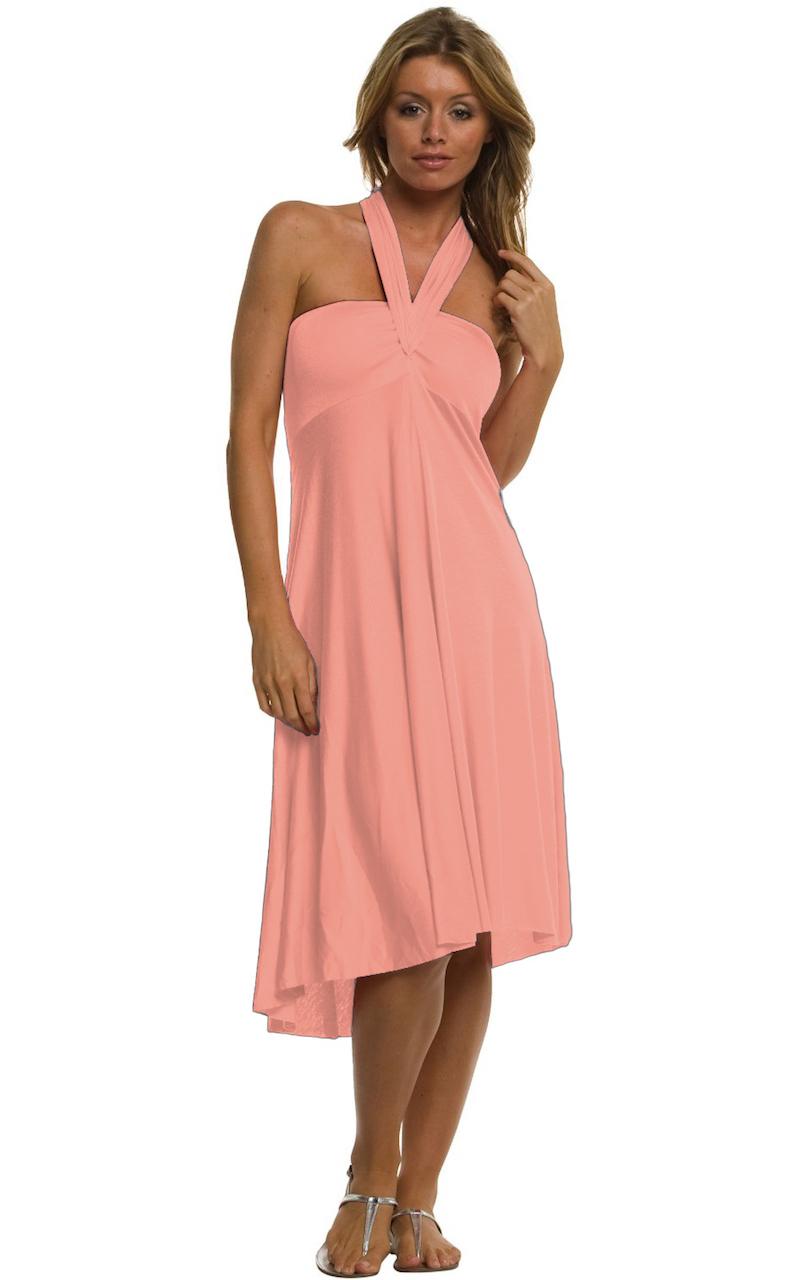 Vivian-039-s-Fashions-Dress-Skirt-Twist-Wrap-10-Ways-to-Wear thumbnail 34