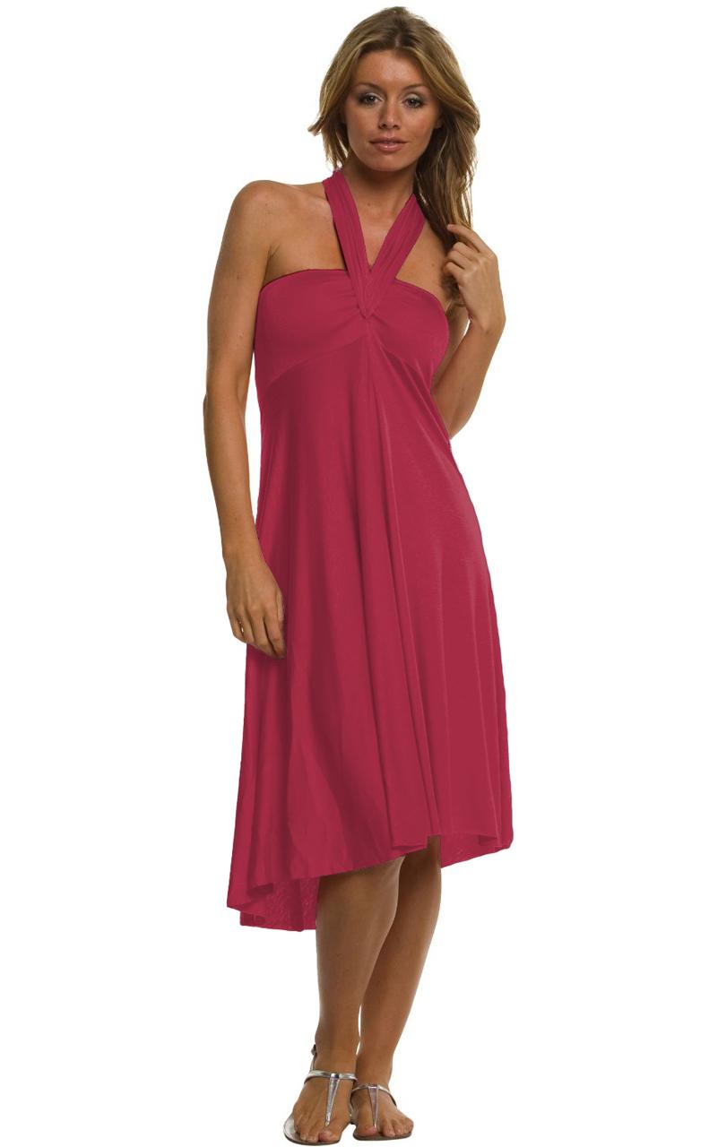 Vivian-039-s-Fashions-Dress-Skirt-Twist-Wrap-10-Ways-to-Wear thumbnail 40