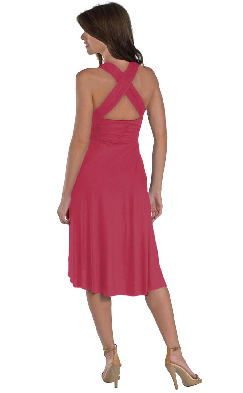 Vivian-039-s-Fashions-Dress-Skirt-Twist-Wrap-10-Ways-to-Wear thumbnail 41
