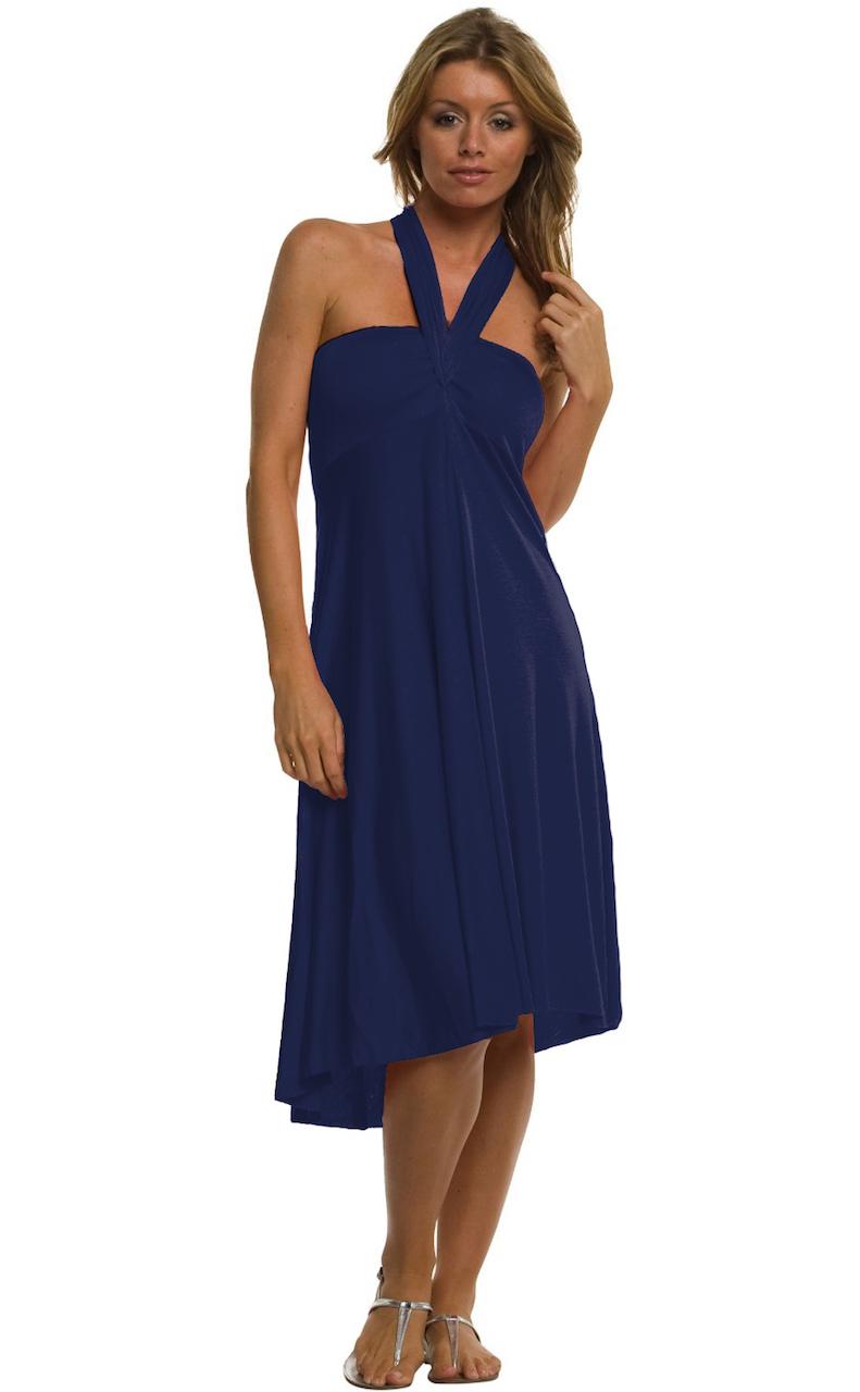Vivian-039-s-Fashions-Dress-Skirt-Twist-Wrap-10-Ways-to-Wear thumbnail 43