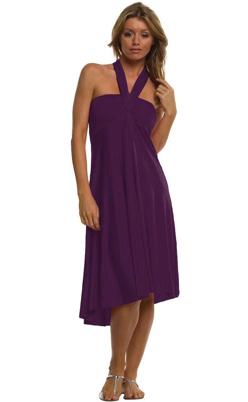 Vivian-039-s-Fashions-Dress-Skirt-Twist-Wrap-10-Ways-to-Wear thumbnail 52