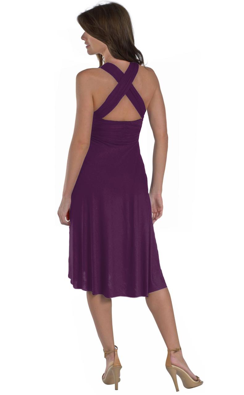 Vivian-039-s-Fashions-Dress-Skirt-Twist-Wrap-10-Ways-to-Wear thumbnail 53