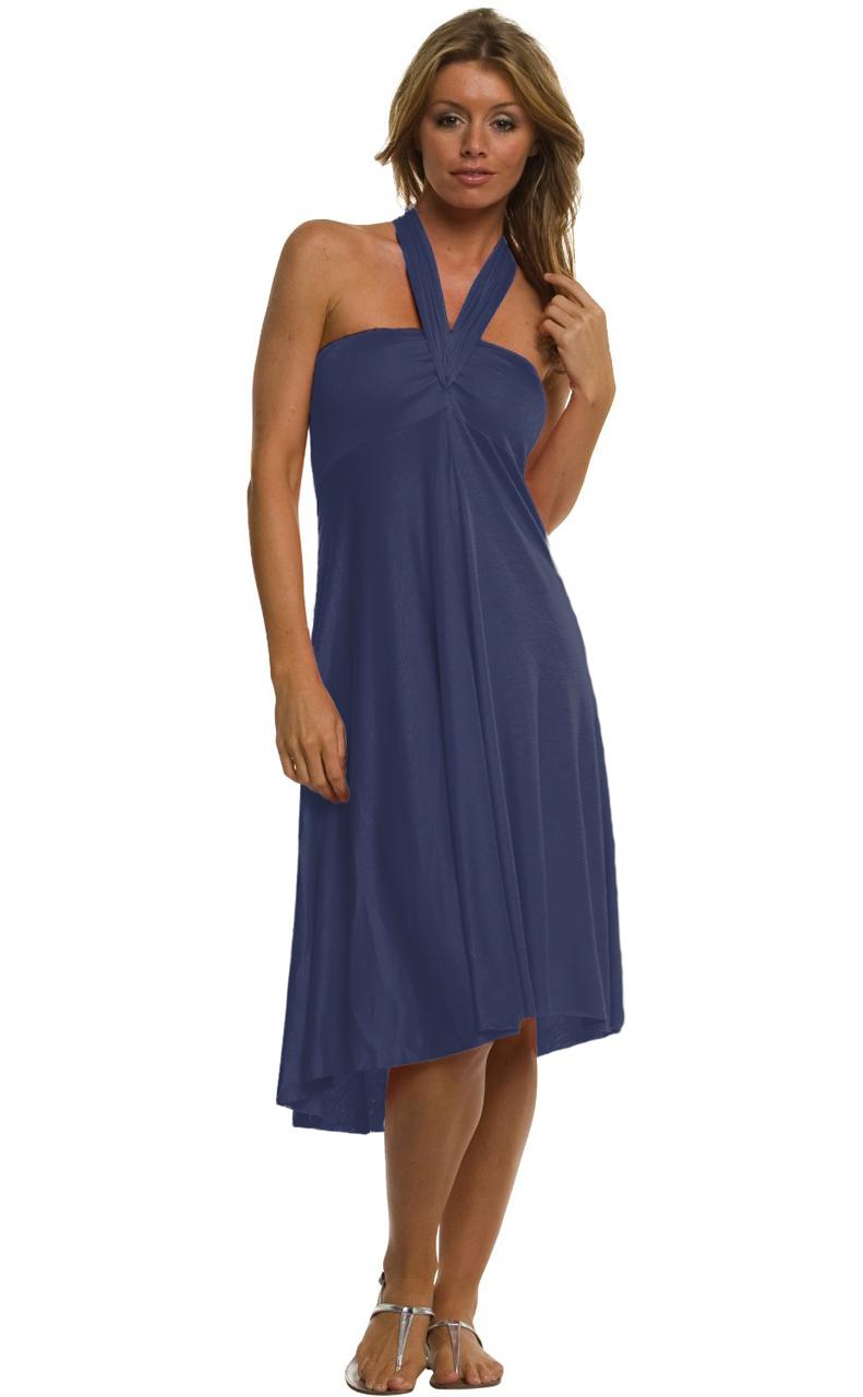 Vivian-039-s-Fashions-Dress-Skirt-Twist-Wrap-10-Ways-to-Wear thumbnail 58