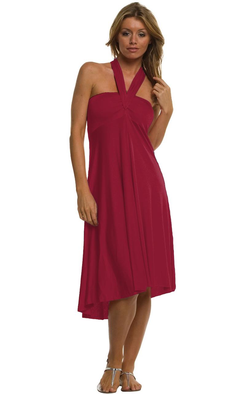 Vivian-039-s-Fashions-Dress-Skirt-Twist-Wrap-10-Ways-to-Wear thumbnail 55