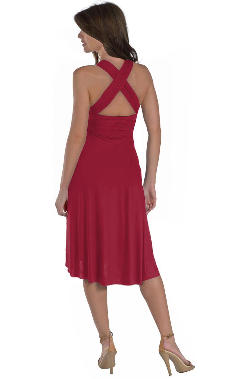 Vivian-039-s-Fashions-Dress-Skirt-Twist-Wrap-10-Ways-to-Wear thumbnail 56