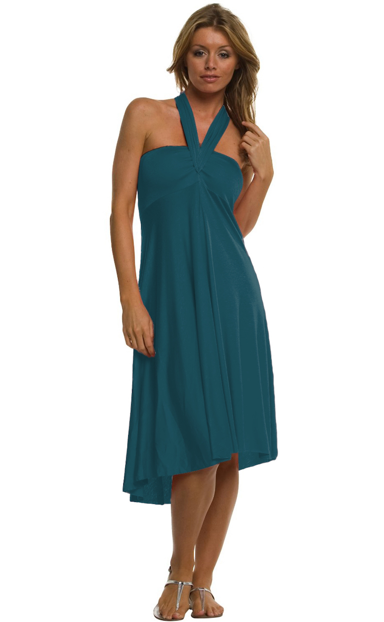 Vivian-039-s-Fashions-Dress-Skirt-Twist-Wrap-10-Ways-to-Wear thumbnail 61