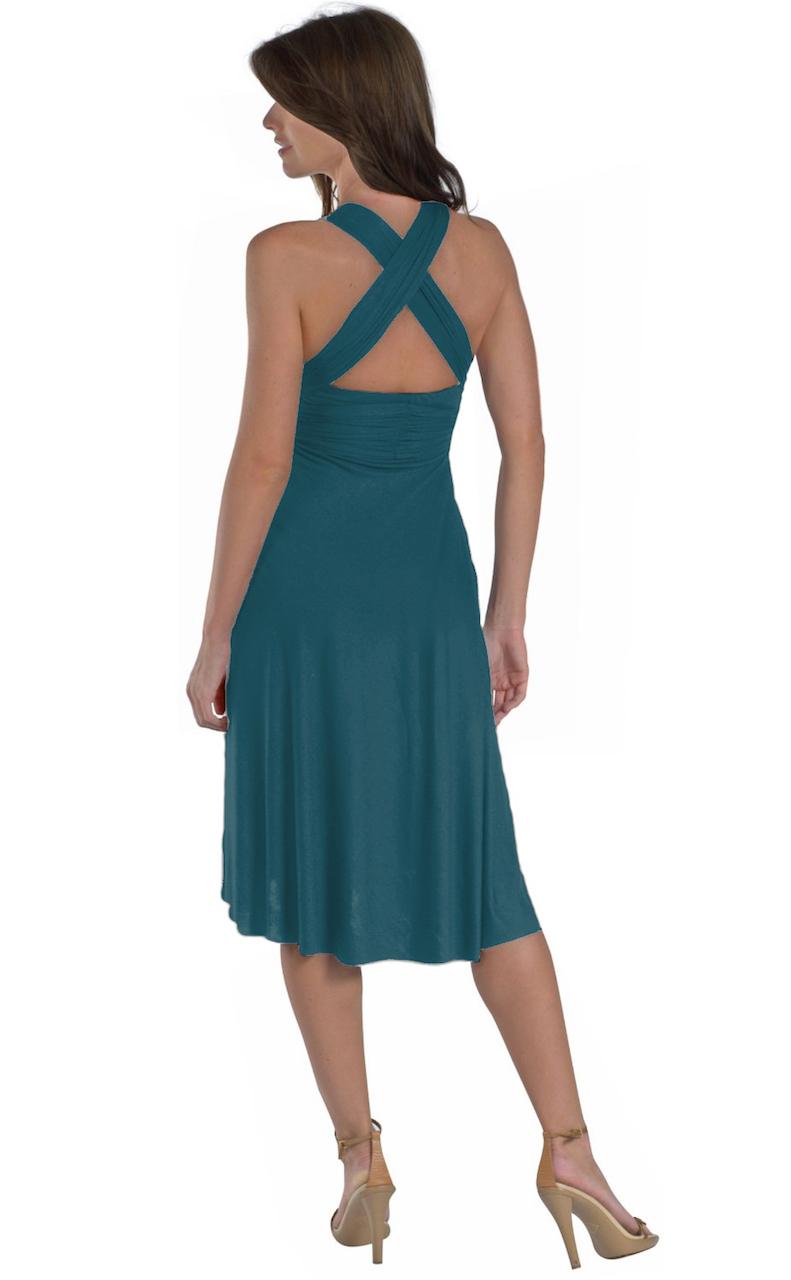 Vivian-039-s-Fashions-Dress-Skirt-Twist-Wrap-10-Ways-to-Wear thumbnail 62
