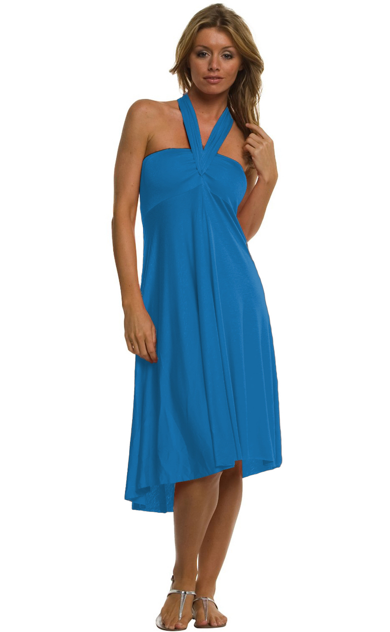 Vivian-039-s-Fashions-Dress-Skirt-Twist-Wrap-10-Ways-to-Wear thumbnail 64
