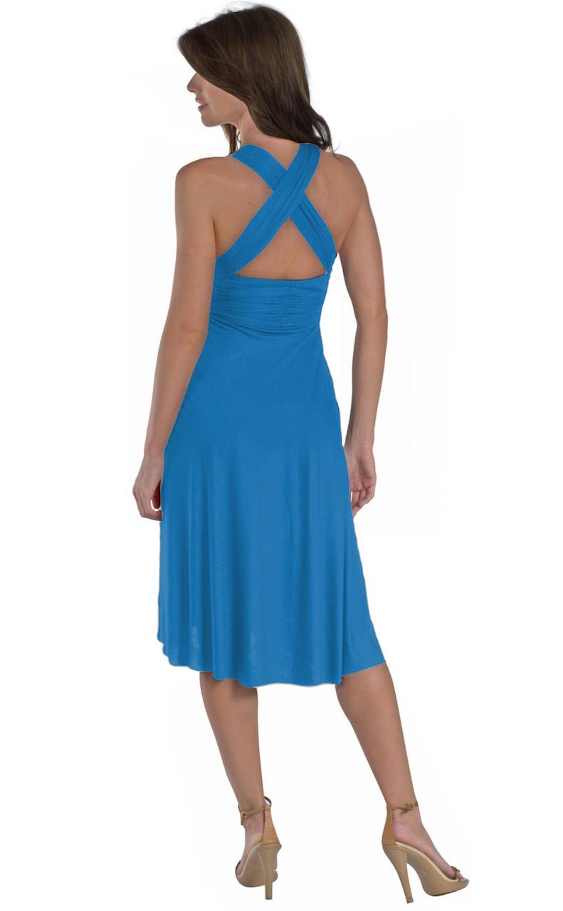 Vivian-039-s-Fashions-Dress-Skirt-Twist-Wrap-10-Ways-to-Wear thumbnail 65