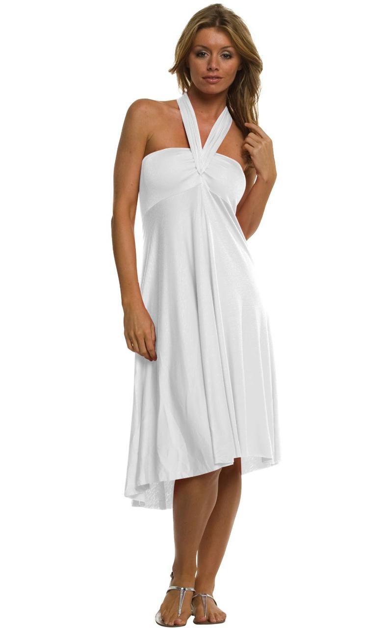 Vivian-039-s-Fashions-Dress-Skirt-Twist-Wrap-10-Ways-to-Wear thumbnail 67