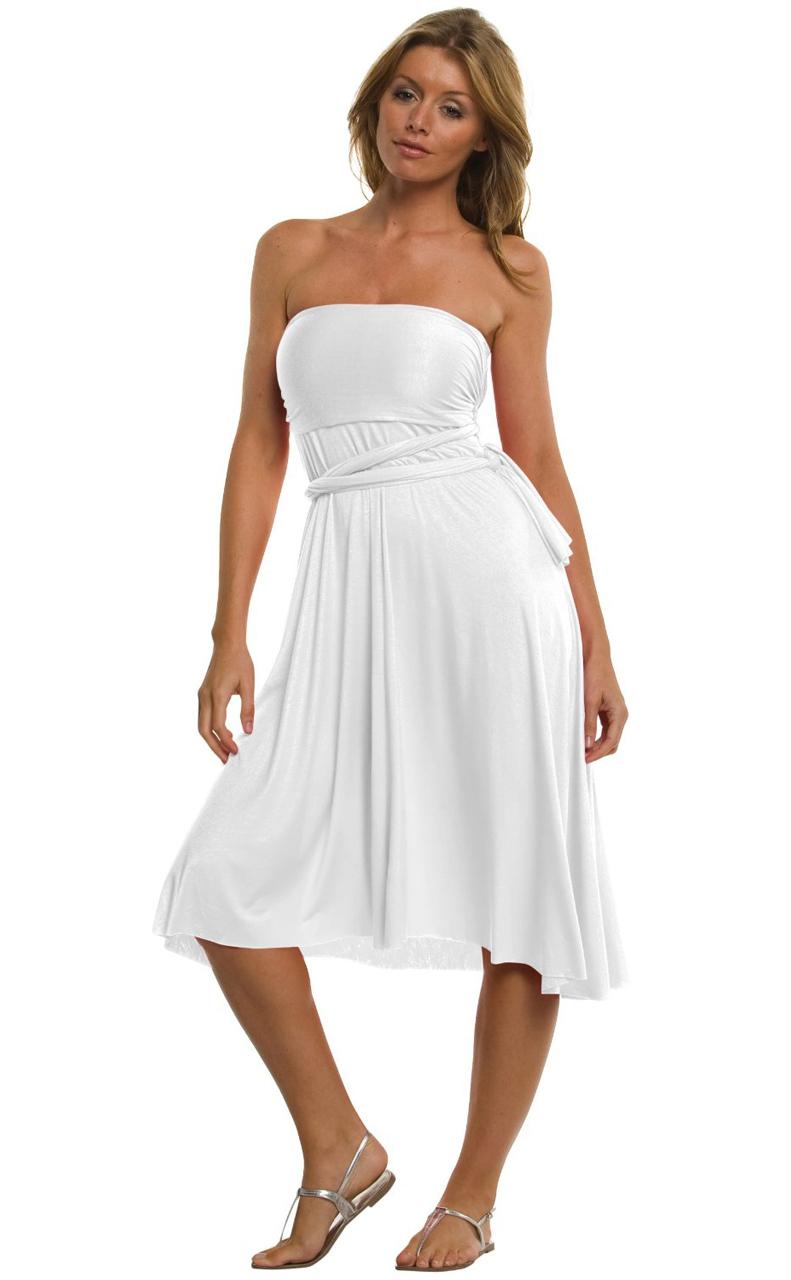 Vivian-039-s-Fashions-Dress-Skirt-Twist-Wrap-10-Ways-to-Wear thumbnail 69