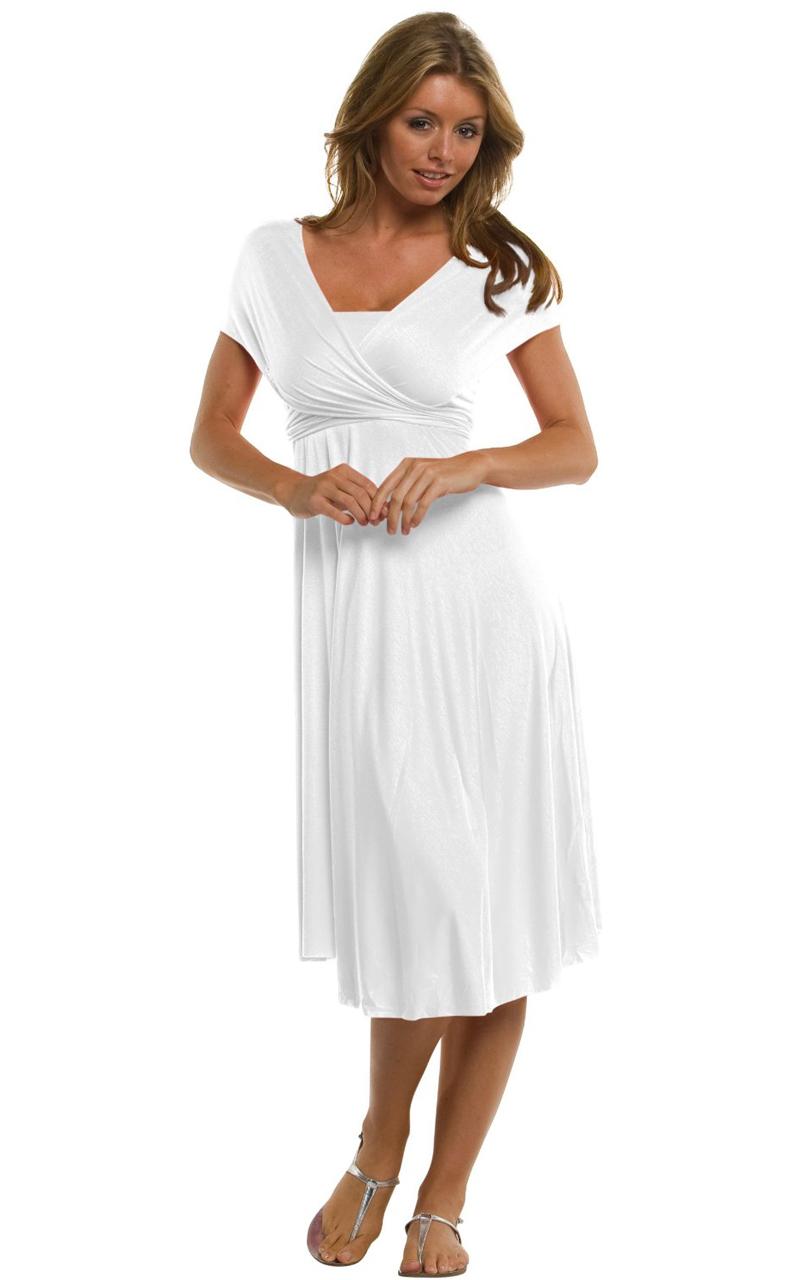 Vivian-039-s-Fashions-Dress-Skirt-Twist-Wrap-10-Ways-to-Wear thumbnail 70