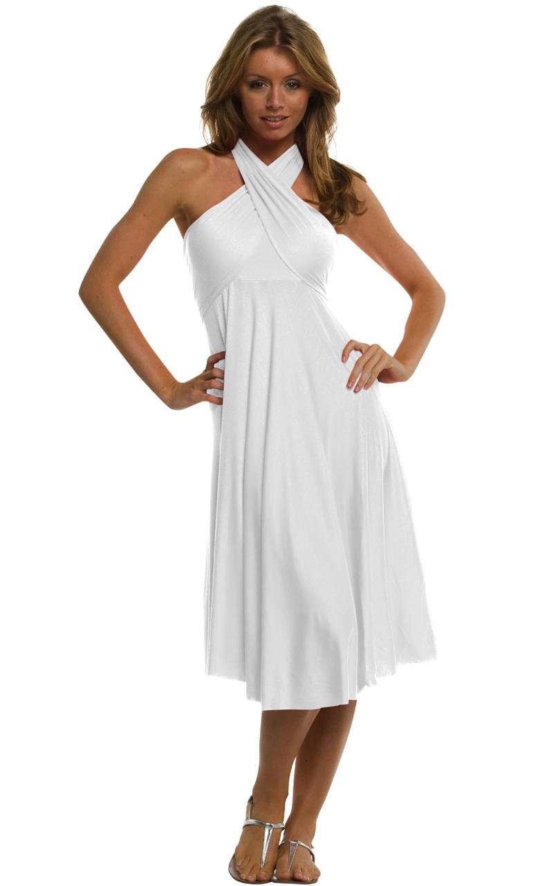 Vivian-039-s-Fashions-Dress-Skirt-Twist-Wrap-10-Ways-to-Wear thumbnail 72